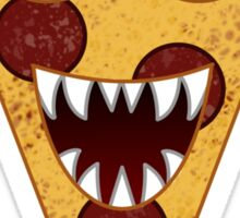 Pizza Monster Sticker