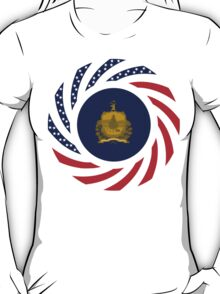 Vermont Murican Patriot Flag Series T-Shirt