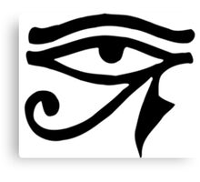 Egyptian Eye of Horus Canvas Print