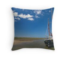 Becalmed Throw Pillow
