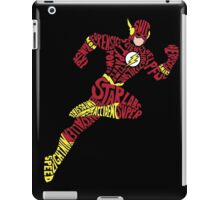 Who is the Flash? iPad Case/Skin