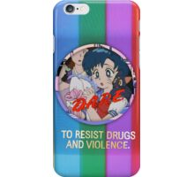don't do drugs the reupload  iPhone Case/Skin