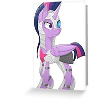 Armoured Princess Greeting Card