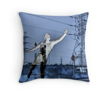 Brazen Giant of Greek Fame.... Throw Pillow