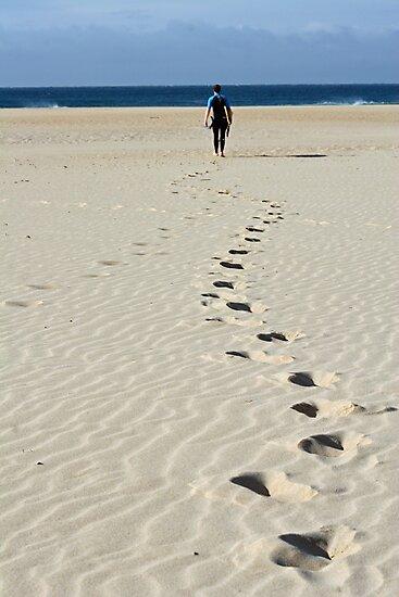 Footprints by Jeanne Horak-Druiff