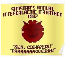 RUN, COWARDS! Poster