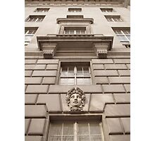 Face of the Building Photographic Print