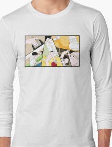 Ping Pong The Animation Print Long Sleeve T-Shirt
