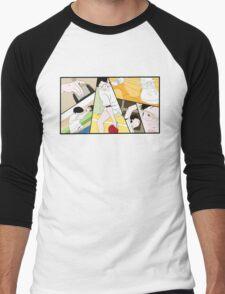 Ping Pong The Animation Print Men's Baseball ¾ T-Shirt