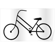 Women's Bicycle Poster
