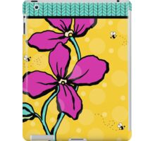Floral Dreamweaver Pattern Pink and Yellow iPad Case/Skin