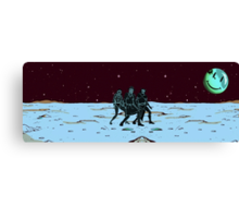 Party on Mars Canvas Print