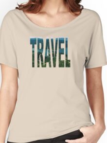 Travel (Napa Valley) Women's Relaxed Fit T-Shirt