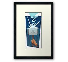 Marvel: Thor (Minimalist) Framed Print