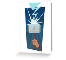 Marvel: Thor (Minimalist) Greeting Card