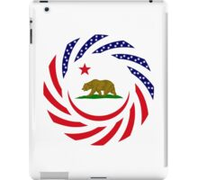 Californian Murican Patriot Flag Series iPad Case/Skin