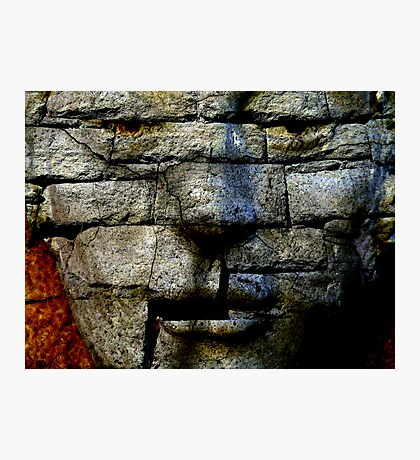 Stoney Faced Photographic Print