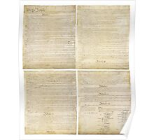 The Constitution of the United States Poster