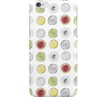 Lemons, lime and blood oranges iPhone Case/Skin