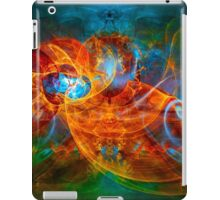 First Flight - colorful digital abstract art by Gordan P. Junior iPad Case/Skin