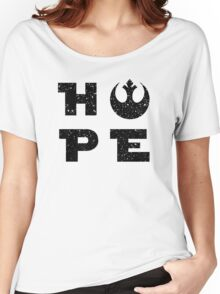 Hope for the Alliance - Dark Women's Relaxed Fit T-Shirt