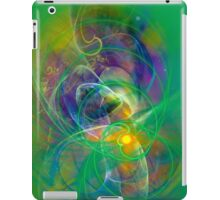 Foliage - colorful digital abstract art by Gordan P. Junior iPad Case/Skin