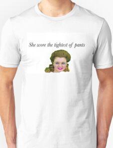 Tight Pants / Body Rolls - Leslie Hall Unisex T-Shirt