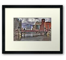 WINDY CITY CLASSIC Framed Print