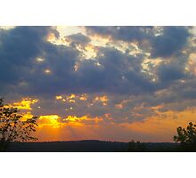 Sunset Skyscape Photographic Print