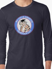 My Cat Is Smarter Than Your Cat T-Shirt