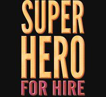 Superhero For Hire Mens V-Neck T-Shirt
