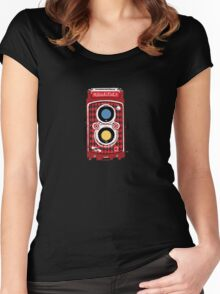Rollei Women's Fitted Scoop T-Shirt