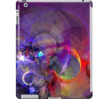 Friday Night - colorful digital abstract art by Gordan P. Junior iPad Case/Skin