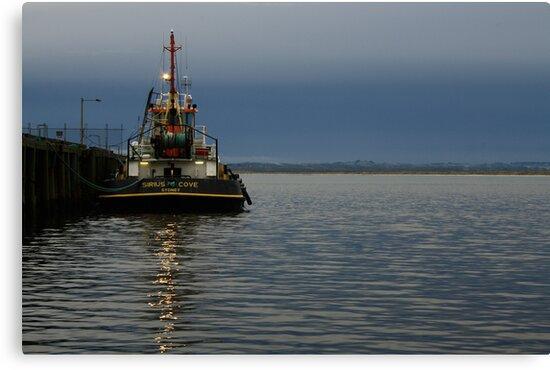 Sirius Cove moored at Stanley Ddock far nor west Tasmania , Australia by phillip wise