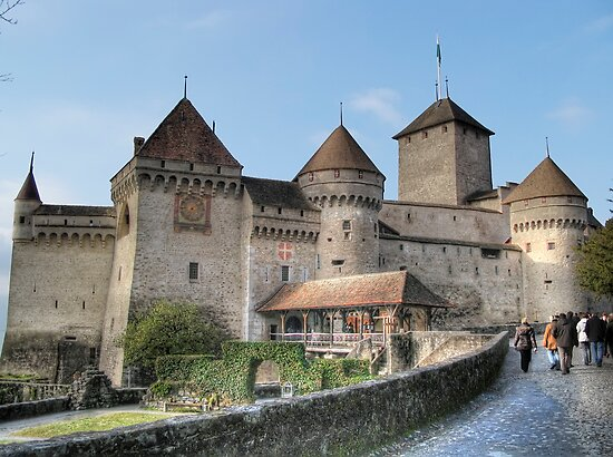Chateau de Chillon, Switzerland by Paul Ryan