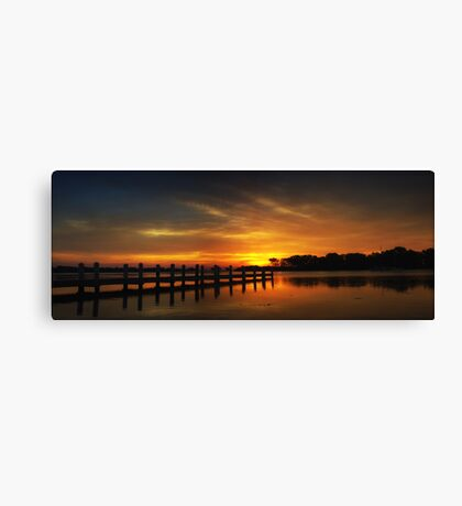 Millers Bay Sunrise Canvas Print