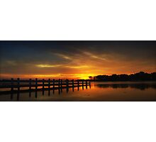 Millers Bay Sunrise Photographic Print