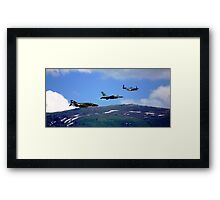 Flying Trio Framed Print