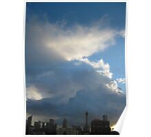 Winter Cloudscape, Sydney Poster