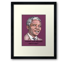 Mr Mandela Framed Print