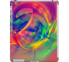 1985 - colorful digital abstract art by Gordan P. Junior iPad Case/Skin