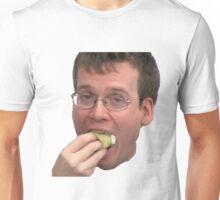 John Green Eating A Cupcake Unisex T-Shirt