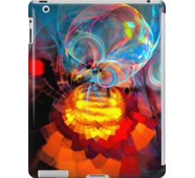 Wizard of Oz - colorful digital abstract art by Gordan P. Junior iPad Case/Skin