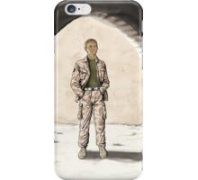 Captain Watson iPhone Case/Skin