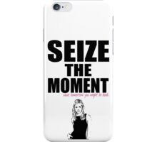 Buffy the Vampire Slayer Seize the Moment iPhone Case/Skin