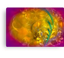 Garden of dreams - colorful digital abstract art by Gordan P. Junior Canvas Print