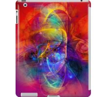 Gladiator - colorful digital abstract art by Gordan P. Junior iPad Case/Skin