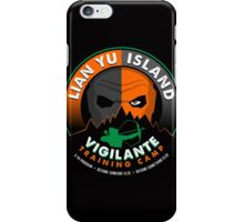 Vigilante Training Camp iPhone Case/Skin