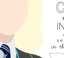 Luna LoveGood (Black Text) Sticker