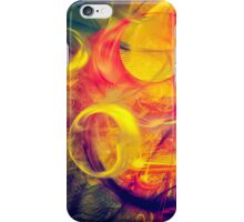 Gondolier - colorful digital abstract art by Gordan P. Junior iPhone Case/Skin
